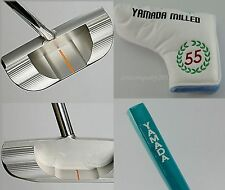 "YAMADA GOLF PUTTER Borzov for RIGHT handed 33"",34"",35"" Rubber Grip + Cover Japan"