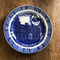 Vintage My Old Kentucky Home Plate Old English Staffordshire Ware England