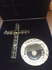 More details for swarovski cross of light with box 285865 damaged