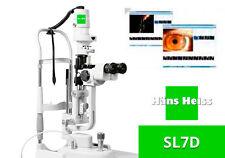 Slit Lamp Hans Heiss Sl7dl Led X5 Magnifications New