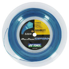 Yonex POLY TOUR SPIN Tennis Stringa Mulinello 200m 16l/1.25mm - Blu