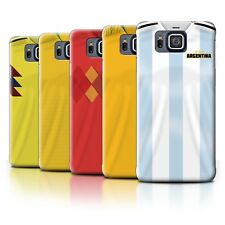 Back Case/Cover/Skin for Samsung Galaxy Alpha/World Cup 2018 Football Shirt