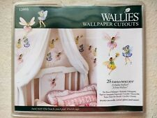 WALLIES Wallpaper Cutout 25 Fairies Wall Decor Stickers 12093 Decal Border NEW