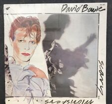 """SEALED! David Bowie """"Scary Monsters"""" 1980 LP Vinyl Album RCA VICTOR AQL1-3647"""