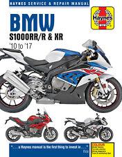 Haynes Workshop Manual for BMW S1000rr S1000r & S1000xr