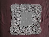 #1168 Beautiful Vintage Hand Made Tablecloth 40cm/40cm(16''x16'')