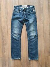 Replay Men's Jeans Blue Size W30 L34