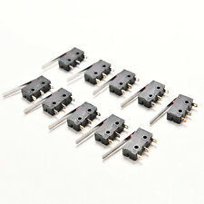 10 X Tact Switches KW11-3Z 5A 250V Microswitch 3 PIN Buckle