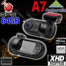 Ambarella Dash camera 0805 A7 GPS 1296P mini In Car Truck DashCam Crash Cam