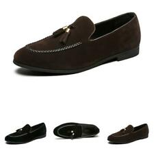 Men Dress Formal Faux Leather Shoes Pointy Toe Oxfords Slip on Work Wedding 46 D