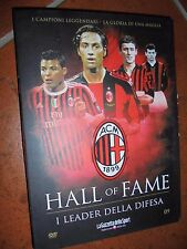 DVD N° 9 I LEADER DELLA DIFESA  AC MILAN HALL OF FAME NESTA SILVA ZAGATTI ROSATO