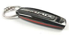 """Mercedes-Benz Schlüsselanhänger Typo """"AMG """" schwarz silber rot B66953338"""