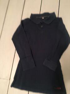 Girls 3/4 Years Old Paul Smith Dress Polo Dark Navy Blue Teal