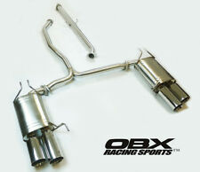 OBX Stainless Catback Exhaust Fit For 09 10 11 12 13 14 Acura TL Base 3.5L FWD