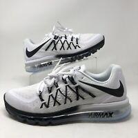Nike Air Max 2015 Running Shoes White Black Gradient CD7625-100 Men's NEW 9.5