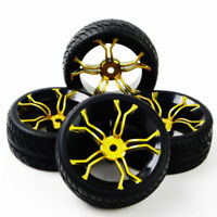 1/10 RC On Road Car Racing Rubber Tyre 12mm Hex For HSP Tymia HPI