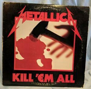 Metallica Kill 'Em All Original Press! **Gorgeous First Press Copy onElektra**