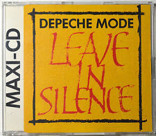 Leave in Silence by Depeche Mode [ W.Germany Imp. - MaxiCD 4 Tracks] - NM/M