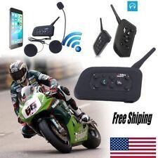 1200m Motorcycle Helmet Bluetooth Headset Intercom Interphone 6Riders Headset MG