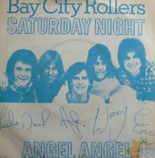 "7"" 1976 NL-PRESS BAY CITY ROLLERS Saturday Night MINT-?"
