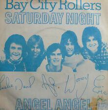 """7"""" 1976 NL-PRESS BAY CITY ROLLERS Saturday Night MINT-?"""