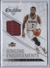 4afe9f6ad960 2014-15 Panini Excalibur Kyrie Irving Cavaliers Ringing Endorsements  Jerseys  17