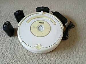 iRobot Roomba 530 Vacuum Cleaner + Charging Dock + 2 Virtual Walls (Sentinels)