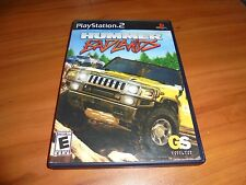 Hummer: Badlands (Sony PlayStation 2, 2006) Used Complete PS2