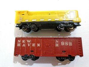 vintage/Early- ARNOLD Rapido- Diesel Locomotive & NH Box car N scale West.German