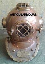 "Nautical Diving Divers Helmet-Us Navy Scuba 18"" Reproduction Maritime Replica"