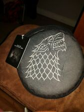 BNWT Official Game of Thrones Flying Disc Dog Squeaky Toy House Stark Chase Run