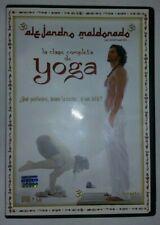 New listing Alejandro Maldonado la clase completa de yoga Dvd + Cd