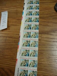 Scott #1939 Madonna & Child by Botticelli 1981 Sheet of 20- 20 Cent Stamps mint
