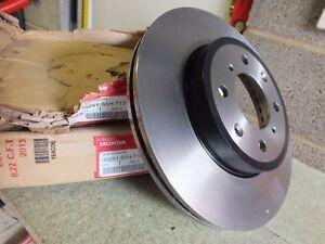 New Genuine Honda Ballade 11 City 09-11 Pair front brake discs 45251-S5H-T10 DW