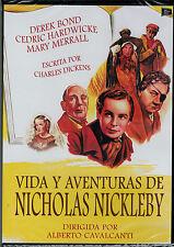 Vida y aventuras de Nicholas Nickleby (DVD Nuevo)