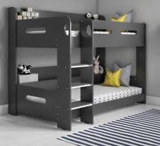 Sky Bunk Bed with Ladder In Dark Grey