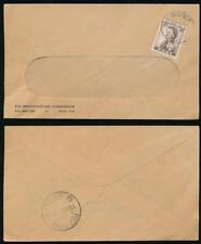 FIJI 1959 PRINTED RATE BROADCASTING COMMISSION ENV.POST OFFICE NAUSORI RECEIVER