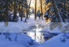"""""""PEACE IN THE VALLEY"""" Beautiful Archival Paper Giclee By John Paul Strain"""