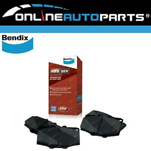 Bendix 4wd Front Disc Brake Pad Set Hilux 4Runner Surf YN60 YN63 LN61 1984-1989