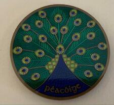 2008 Celtic Peacock Geocoin