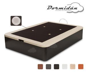 Canape abatible, base tapizada 3D/Polipiel + aireadores, GRAN CAPACIDAD