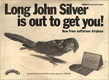 """JEFFERSON AIRPLANE Long John Silver UK Press ADVERT 12x8"""""""