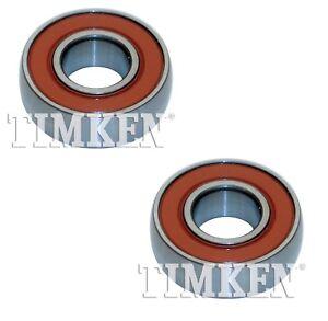 Pair Set 2 Rear Inner Timken Wheel Bearings for Chevy Daihatsu Geo Pontiac FWD