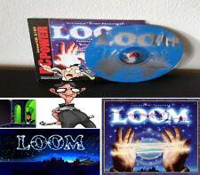 LucasArts Adventures Loom PC Loom RARE Version complète et Théâtrale allemand
