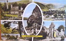 Irish Postcard Glendalough Multiview Wicklow Ireland Valentines Collo Colour GtB