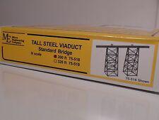 N SCALE Micro-Engineering #75-518 TALL STEEL VIADUCT 200 FT