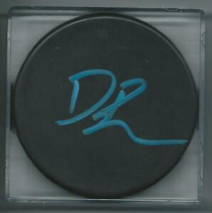 GFA Vancouver Canucks DAVID BOOTH Signed Blank Puck D1 COA