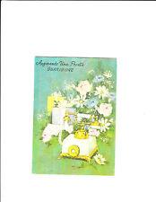 1 card Italian Get Well card 5055A 9 Telephone Gute Besserung