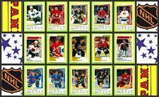 1991 Panini NHL Hockey Stickers Complete Set of 344 Jagr Sundin Fedorov Rookie