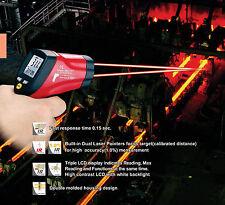 CEM IR Infrared Dual Laser Thermometer 1202 deg DT-8862 C/F Temperature Meter !!